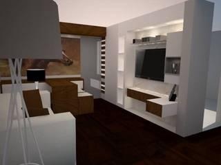 Salas de estilo moderno de SindiyFiorella Moderno