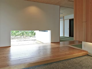 大町の住宅 和風の 玄関&廊下&階段 の MAアーキテクト一級建築士事務所 和風