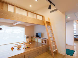 秋和の歯科 モダンデザインの 子供部屋 の Atta一級建築士事務所アトリエta モダン