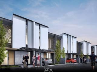 KZ Town House :  Rumah tinggal  by Atelier BAOU+