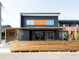 Passive house by 株式会社山口工務店, Modern