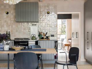 East Dulwich Industrial Conversion Industriale Küchen von Imperfect Interiors Industrial