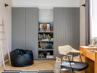 Chambre de style  par Imperfect Interiors,