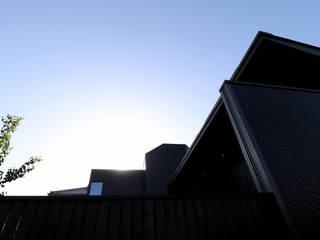 大阪・枚方「オクタゴン」新築コートハウス オリジナルな 家 の CN-JAPAN/藤村正継 オリジナル