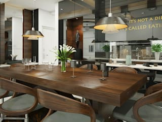 Monnaie Interiors Pvt Ltd KitchenTables & chairs
