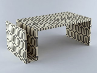 Naomi Coffee Table: modern  by Stature Retail Service,Modern
