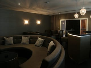Luxury House, Preston Asco Lights Limited Modern living room