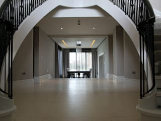 Luxury House, Preston Asco Lights Limited Modern corridor, hallway & stairs