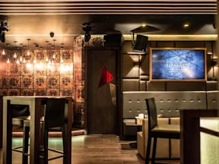 Namaste Lounge, London Asco Lights Limited Modern bars & clubs