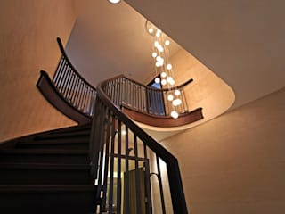 Contemporary New Build, Glossop Asco Lights Limited Stairs