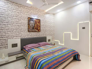 Modern style bedroom by aasha interiors Modern