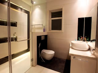 Indra hira bungalow Innerspace Modern bathroom