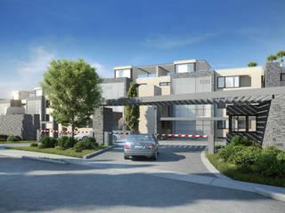 Depthouse Los Trapenses – Castro & Tagle Inmobiliaria: Casas de estilo  por Xline chile