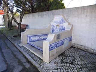 โดย Gestos Nativos - azulejos ชนบทฝรั่ง