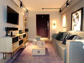 Edifício Brasil: Salas de estar  por Duplex212 - Arquitetura e Interiores