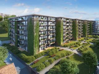 Paradiso Percolago Moderne Häuser von Xline 3D Digital Interactive Architecture Modern