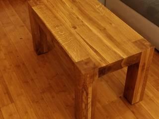 Stolik drewniany: styl , w kategorii  zaprojektowany przez NaLata - Meble Drewniane, Ariel Młotkowski