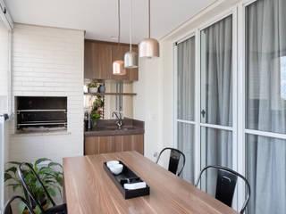 Edifício Solaris: Terraços  por Duplex212 - Arquitetura e Interiores