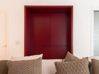 Hall de Entrada: Salas de estar  por Duplex212 - Arquitetura e Interiores