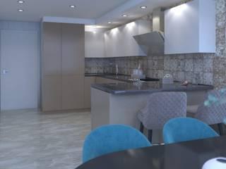 Cucina attrezzata in stile  di Non Solo Design, Minimalista