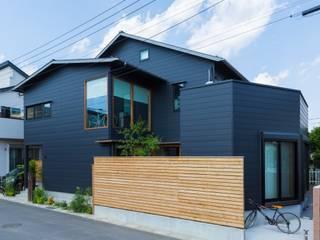 川口の家: 一級建築士事務所 アトリエ カムイが手掛けた家です。,モダン