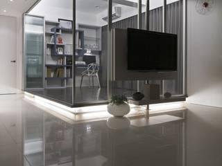 質樸中透出內斂的時尚:  書房/辦公室 by 禾光室內裝修設計 ─ Her Guang Design