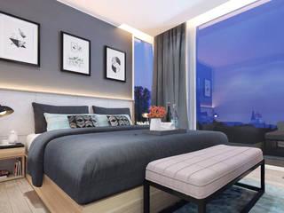 غرفة نوم تنفيذ Jati and Teak