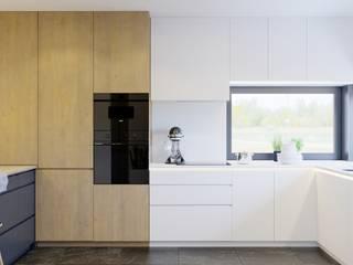 Przytulne wnętrze : styl , w kategorii  zaprojektowany przez NUKO STUDIO