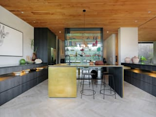 Chameleon Villa Bali Kitchen : tropical Kitchen by Word of Mouth House
