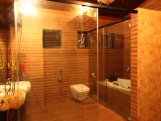 APPLE POOL VILLA Rustic style bathroom by The Designs Rustic