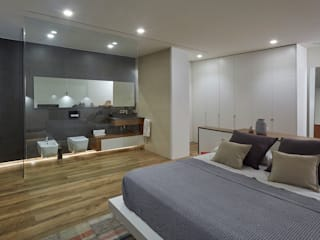Habitaciones de estilo  por Ideas Interiorismo Exclusivo, SLU