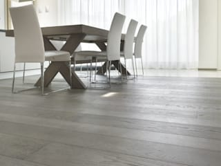 Sugar Paper oak wood floor Comedores de estilo moderno de Cadorin Group Srl - Top Quality Wood Flooring Moderno