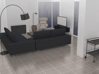 Projecto Sala de Estar : Salas de estar minimalistas por AnaPacheco - BoConcept Interior Designer