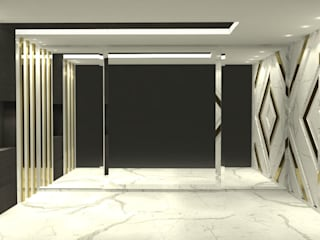 Gold Sales office:  Offices & stores by Freelance designer