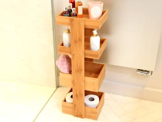 4 Tier Bathroom Caddy: modern  by Finoak LTD, Modern