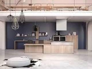 Casa n. 2: Cucina in stile in stile Minimalista di Rossi Design