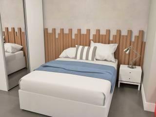 EX ARQUITETURA E INTERIORES Modern style bedroom