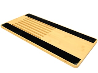 Laptop Tray with Cork Pad Finoak LTD Domowe biuro i gabinetBiurka