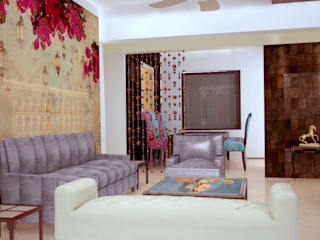 Residential Project - NRI Complex, Navi Mumbai Dezinebox Modern living room