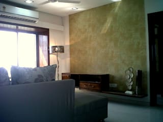 Residential Project - Siddhi Grandeur, Kharghar Modern living room by Dezinebox Modern