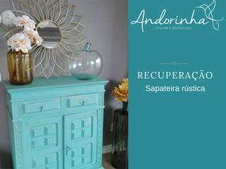 Peça de cliente 2018 - Sapateira rústica por Atelier Andorinha Rústico
