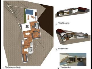 Reabilitação com Conversão total de Habitação em Almargem do Bispo por AJA - Reabilitação - Remodelação - Construção Moderno