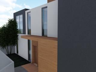 Habitação Unifamiliar em Odivelas - projeto de Moradia em LSF:   por AJA - Reabilitação - Remodelação - Construção