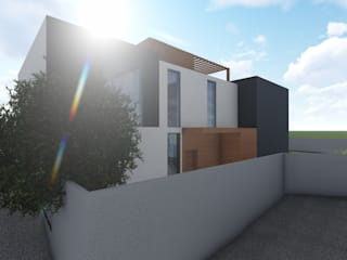 Habitação Unifamiliar em Odivelas - projeto de Moradia em LSF por AJA - Reabilitação - Remodelação - Construção