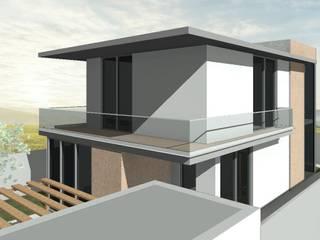 Moradia com apontamentos de Cortiça em Loures:   por AJA - Reabilitação - Remodelação - Construção