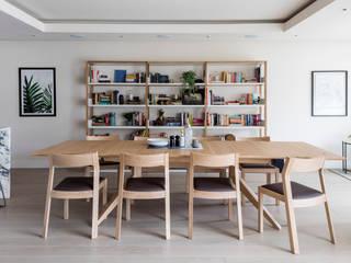 Salle à manger de style  par Imperfect Interiors,