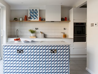 Sixties Townhouse Cocinas modernas de Imperfect Interiors Moderno