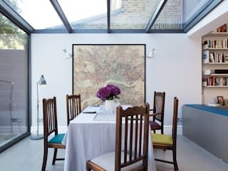 East Dulwich Family Home Modern dining room by Imperfect Interiors Modern