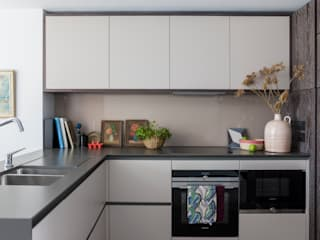 Battersea Power Station Apartment Cocinas modernas de Imperfect Interiors Moderno