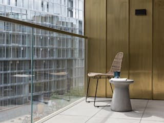 Battersea Power Station Apartment Casas modernas de Imperfect Interiors Moderno